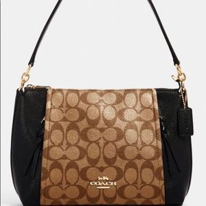 Coach Marlon Shoulder Bag in Signature Canvas